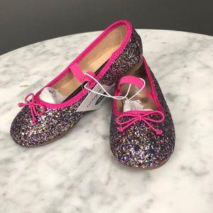 Cat & Jack l Glitter & Pink Ballet Flats